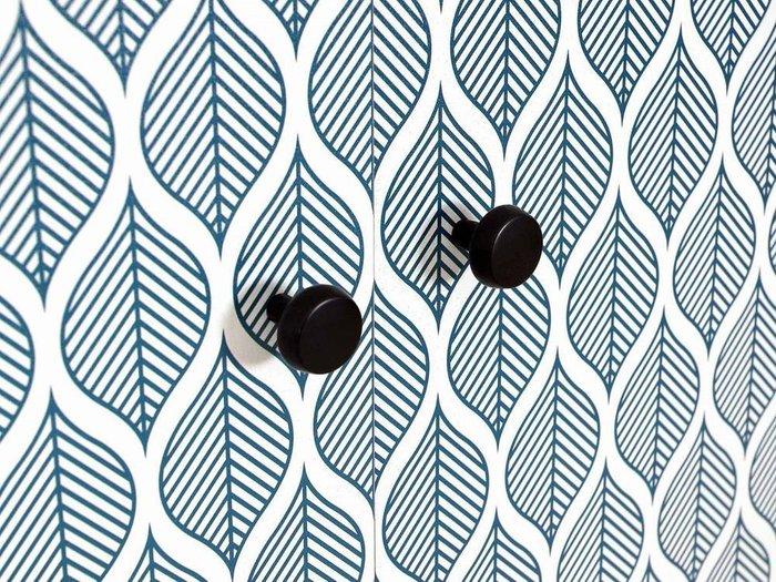 Композиция Frida 4 с принтом Leaf на деревянных ножках