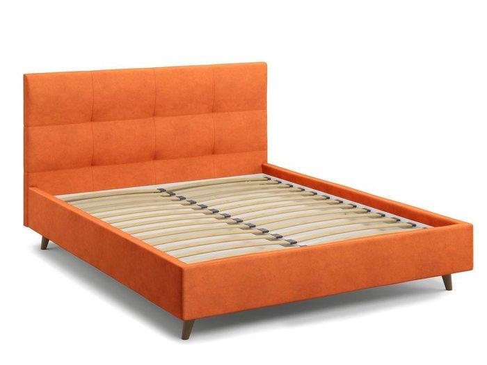 Кровать Garda 140х200 оранжевого цвета