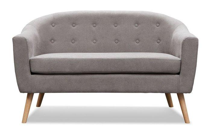 Прямой диван Florence M серо-бежевого цвета