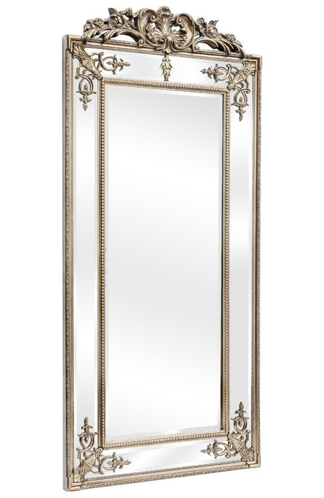 Напольное зеркало в раме Paolo Silver