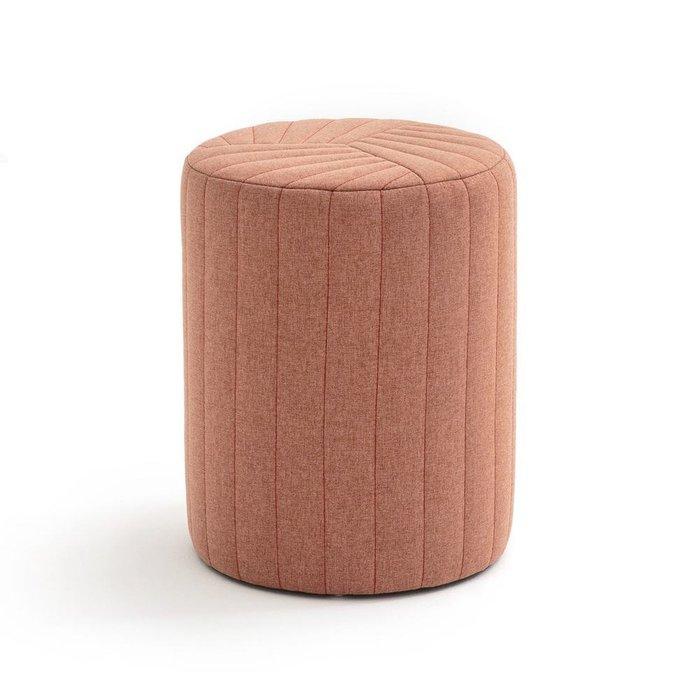 Пуф цилиндрический Jimi с видимыми швами