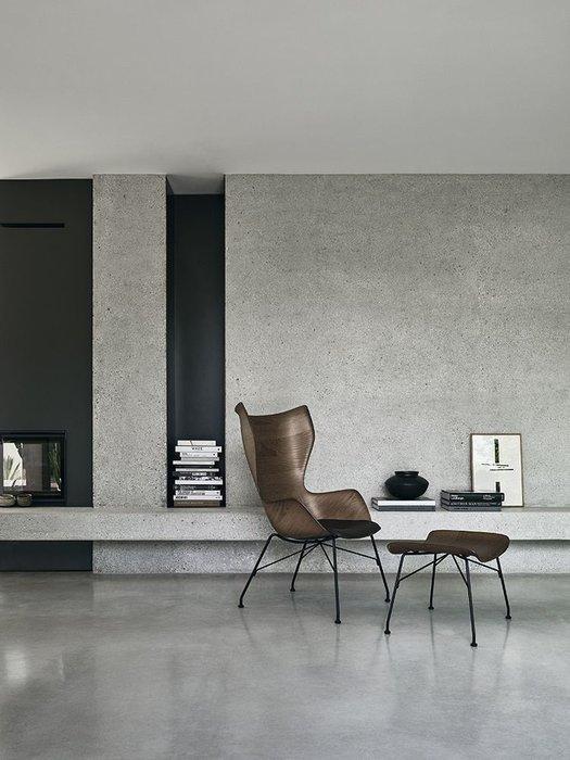 Кресло  Q/Wood цвета ясень светлый