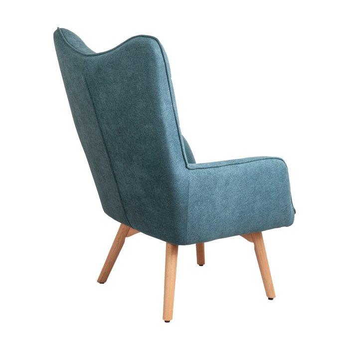 Кресло Bogema бирюзового цвета