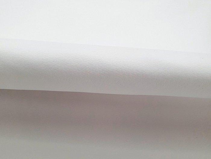 Угловой диван-кровать Даллас бело-черного цвета (ткань\экокожа)