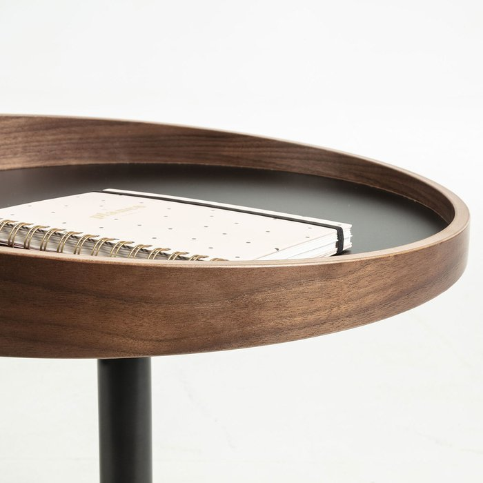 Кофейный стол Karlin c металлической столешницей