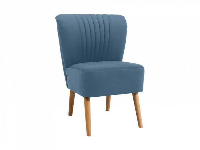 Кресло Barbara голубого цвета