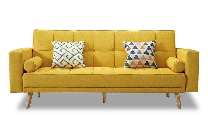Диван-кровать Scandinavia желтого цвета