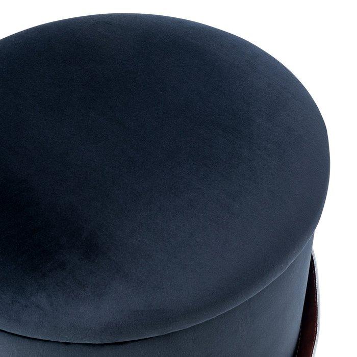 Пуф Бакет черного цвета