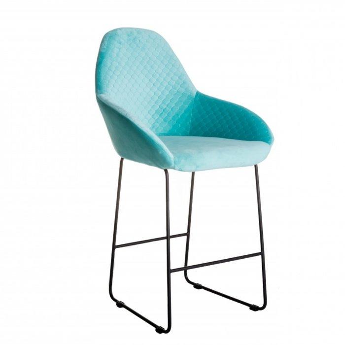 Кресло барное Kent светло-зеленого цвета