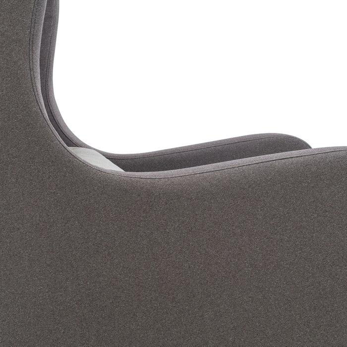 Кресло Хилтон темно-серого цвета