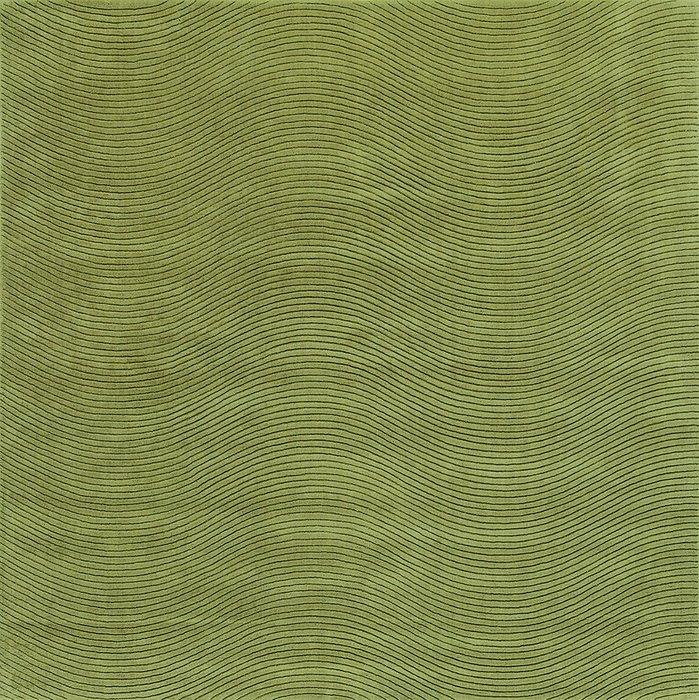 Ковер Ona зеленого цвета 200х200
