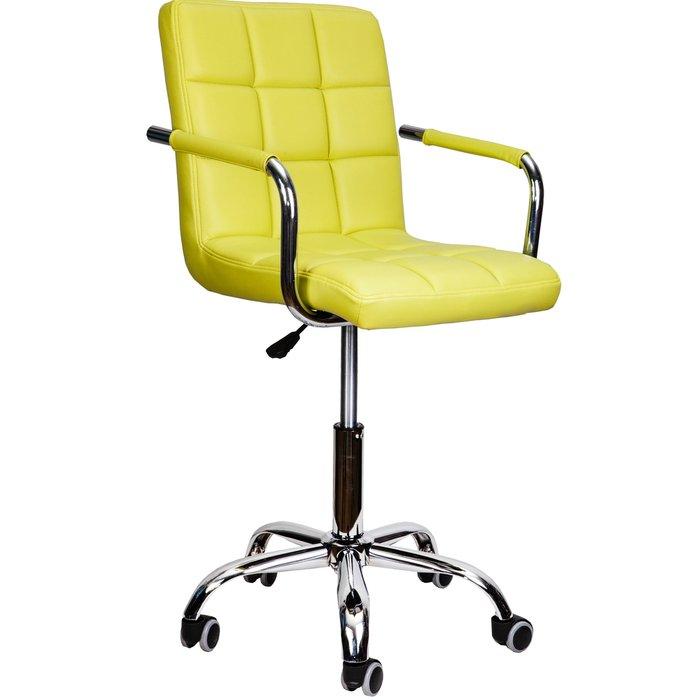 Офисный стул Rosio светло-зеленого цвета