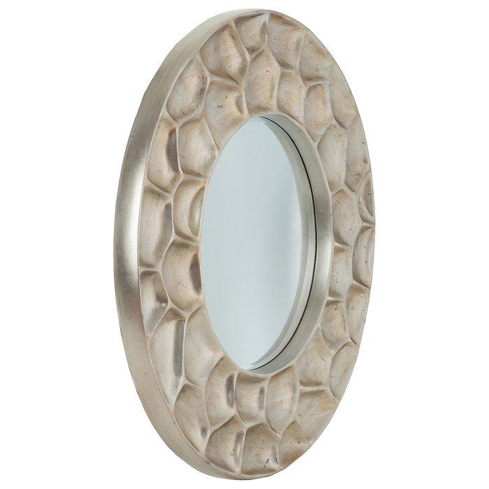 Зеркало настенное Портофино цвета шампань золото