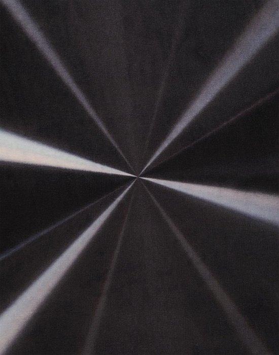 Ковер Carpet черного цвета 200х200