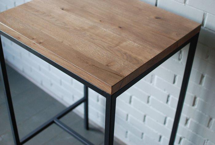 Барный стол Dub 03 из массива дуба