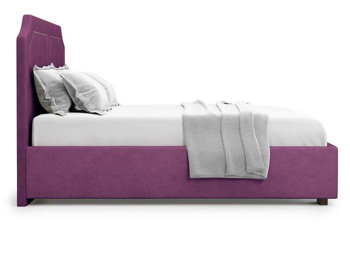 Кровать с подъемным механизмом Lago 160х200 фиолетового цвета