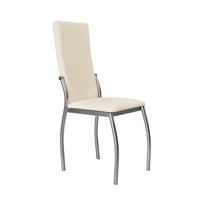 Кухонный стул Пекин №8 Серебро бежевого цвета