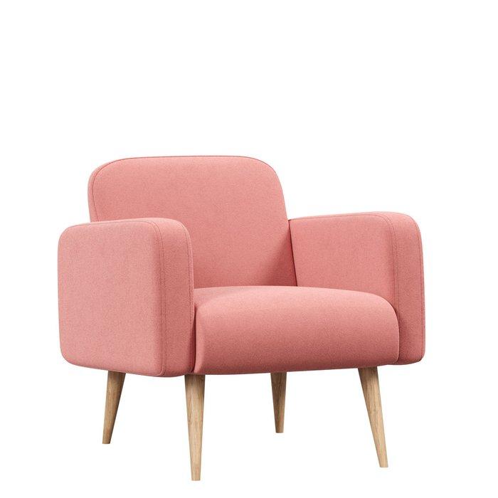 Кресло Уилбер светло-розового цвета