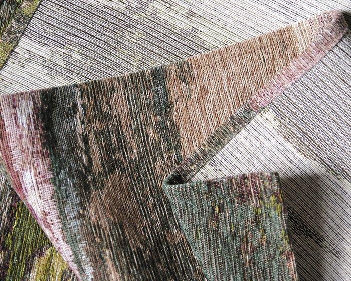 Ковер Alina Village коричнево-зеленого цвета 135х200