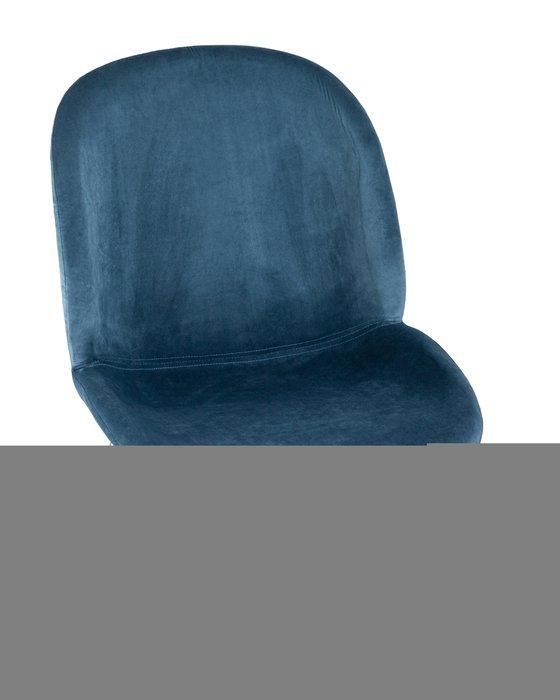 Стул полубарный Beetle синего цвета