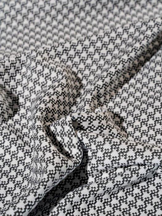 Набор из двух наволочек Attico grey серого цвета