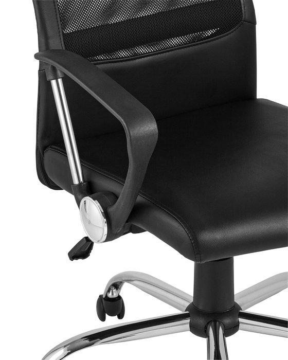 Кресло офисное Top Chairs Bonus черного цвета