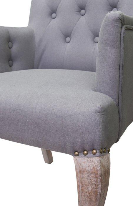 Классические кресла Deron grey серого цвета