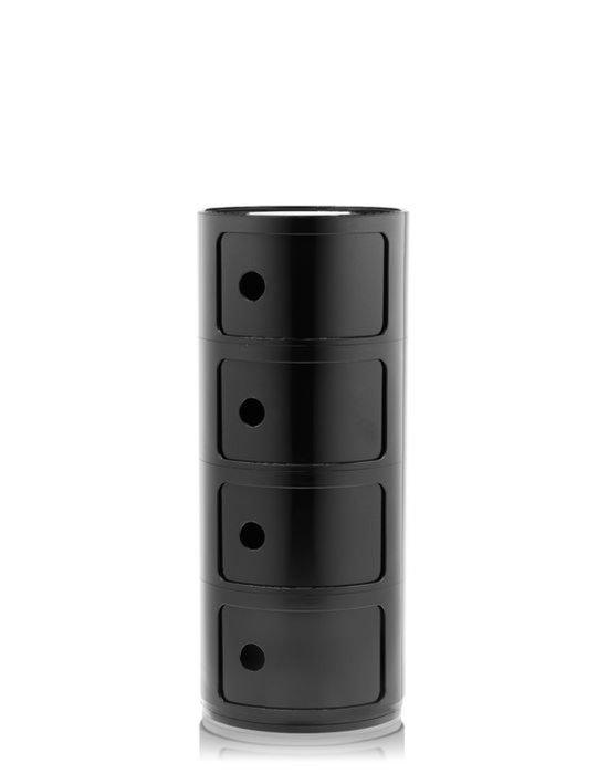 Комод Componibili черного цвета