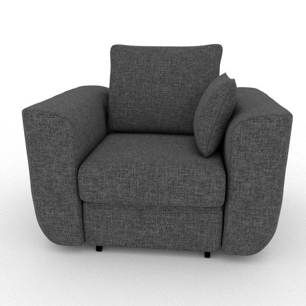 Кресло-кровать Stamford серого цвета