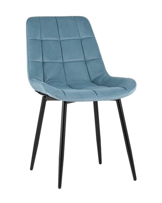 Стул Флекс пыльно-голубого цвета