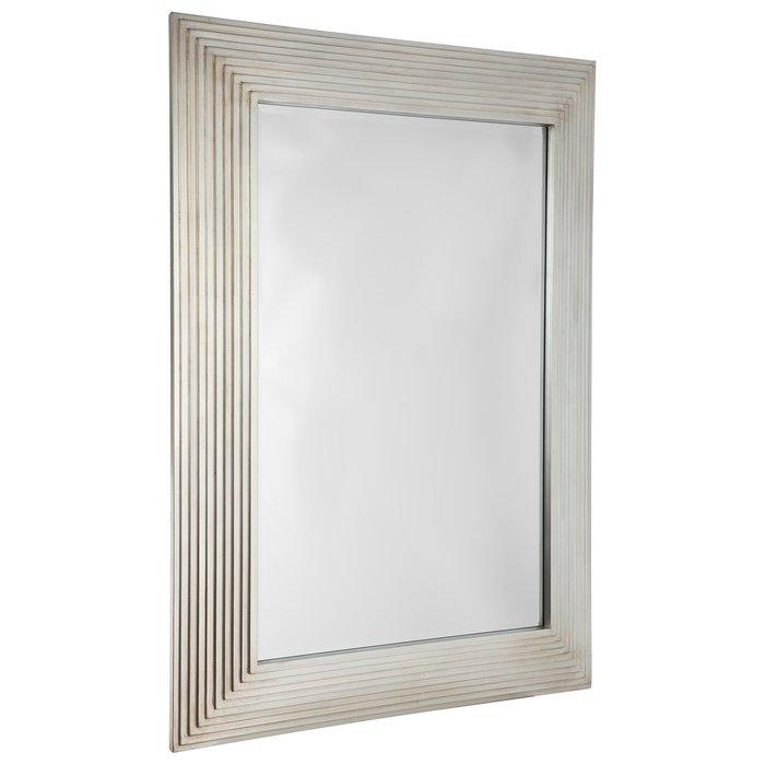 Зеркало настенное Бредфорд цвета шампань серебро