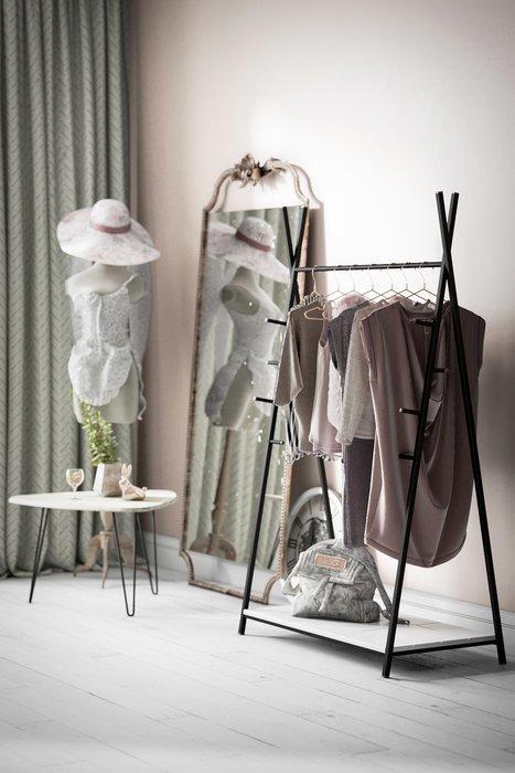 Вешалка гардеробная Фелтон белого цвета