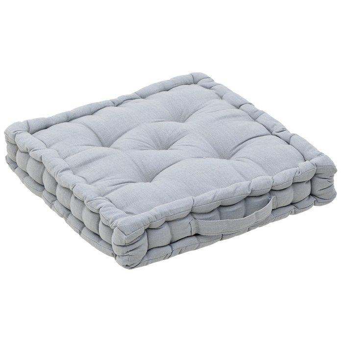 Подушка светло-серого цвета
