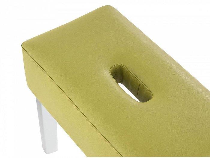 Пуф мягкий Handy зеленого цвета
