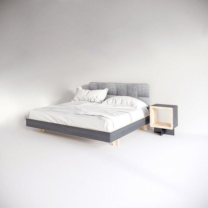 Кровать EcoComb с мягким изголовьем 140х200