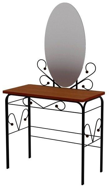 Стол дамский Диона коричневого цвета