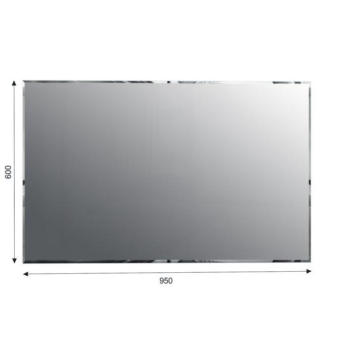 Настенное зеркало Илона цвета Дуб белладжио