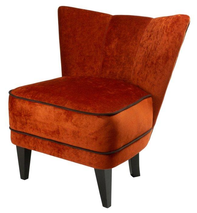 Кресло Viola терракотового цвета