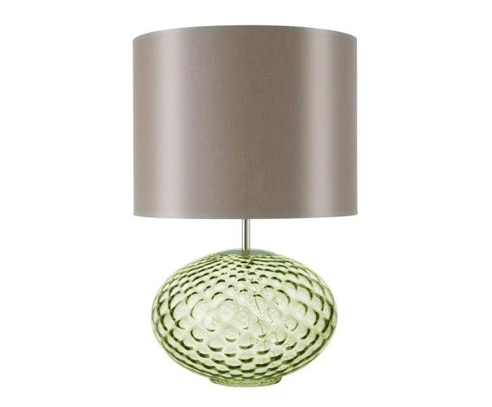 Настольная лампа бежевого цвета