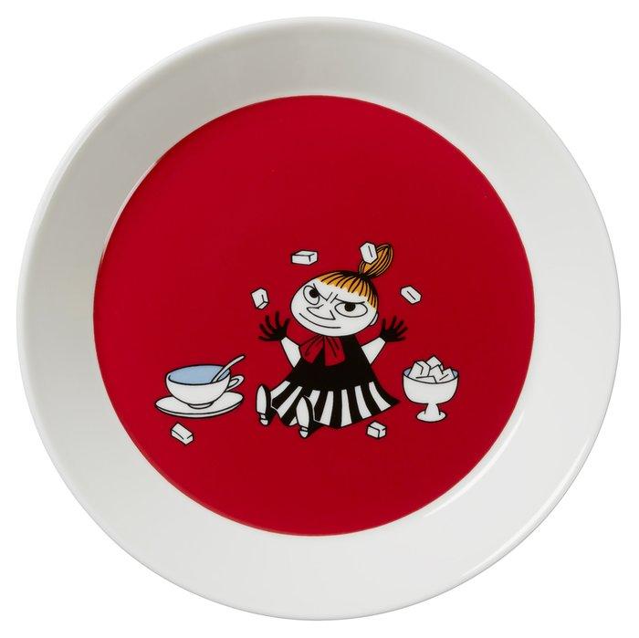 Тарелка Малышка Мю из фарфора