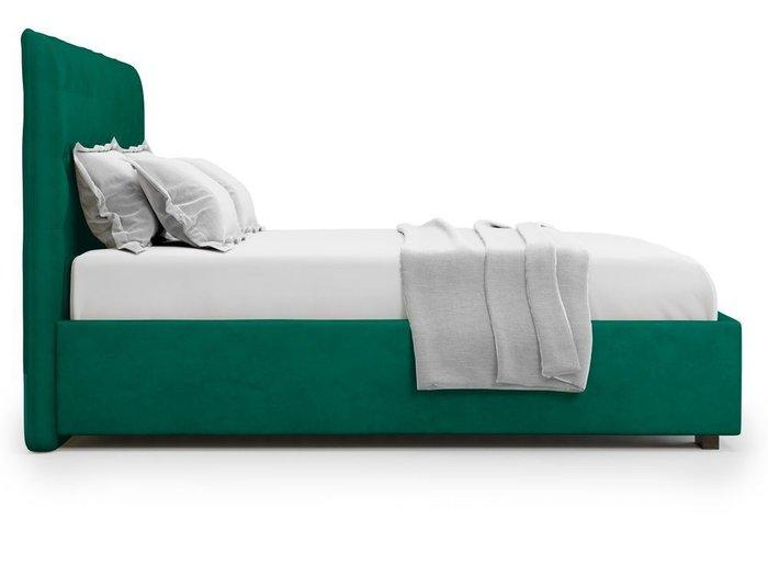 Кровать Brachano 180х200 зеленого цвета