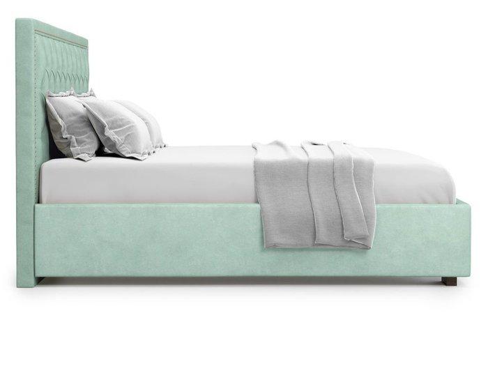 Кровать с подъемным механизмом Orto 180х200 мятного цвета