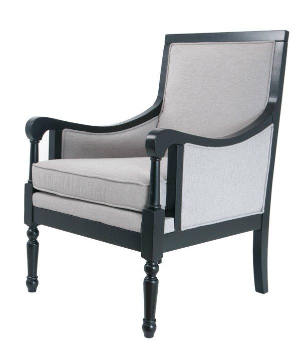 Кресло Colin серого цвета
