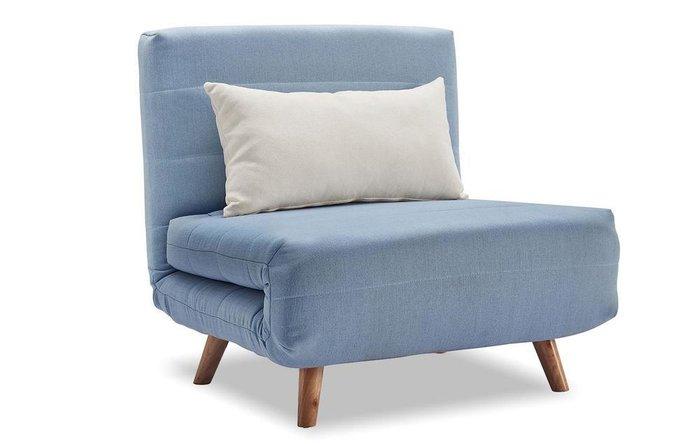 Кресло-кровать Flex голубого цвета