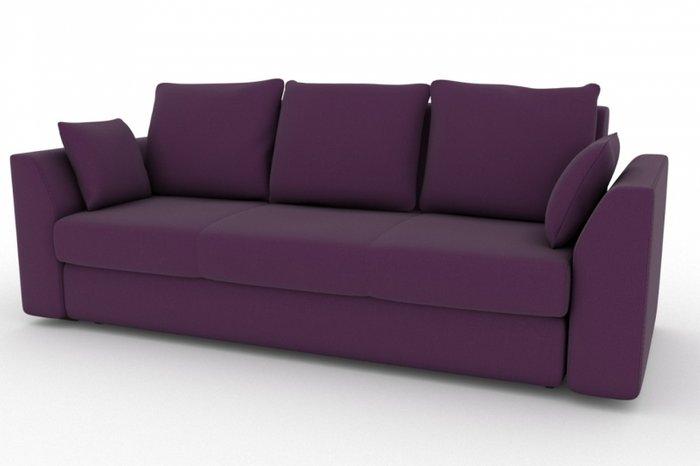Прямой диван-кровать Belfest фиолетового цвета
