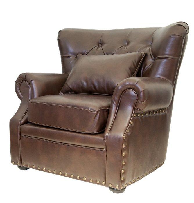 Кресло Tesco с обивкой из натуральной кожи