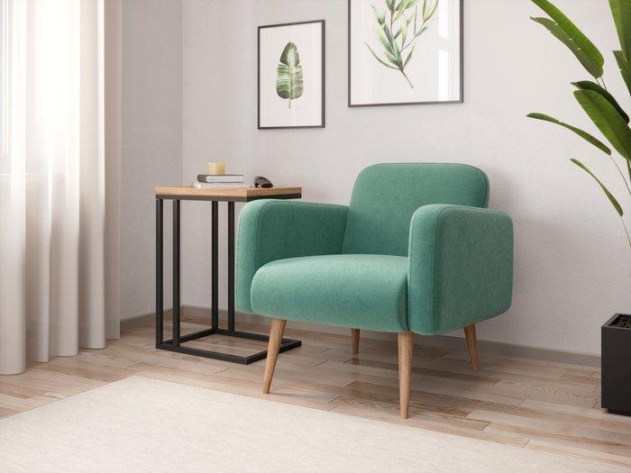 Кресло Уилбер светло-зелёного цвета