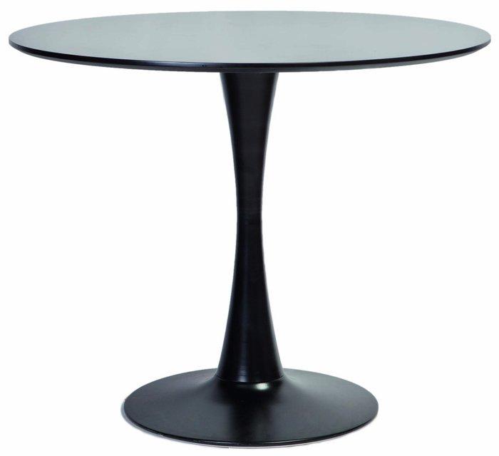 Стол обеденный Alma черного цвета
