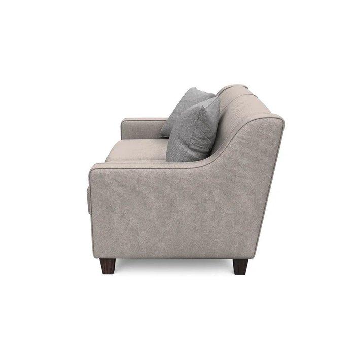Двухместный диван Агата S бежевого цвета