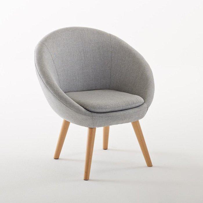 Кресло-шар Jimi с ножками из бука